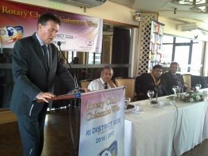 roshan perera , rotary - Australia's High Commissioner to Sri Lanka-roshan perera
