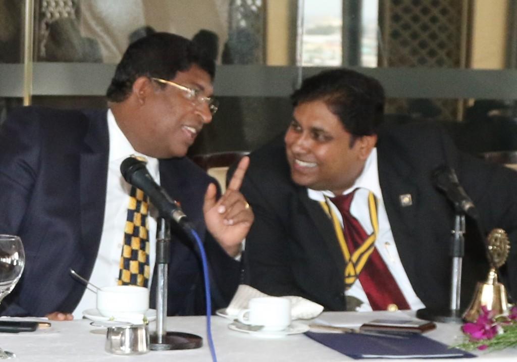 roshan perera-ravi karunanayake - cabinet minister sri lanka
