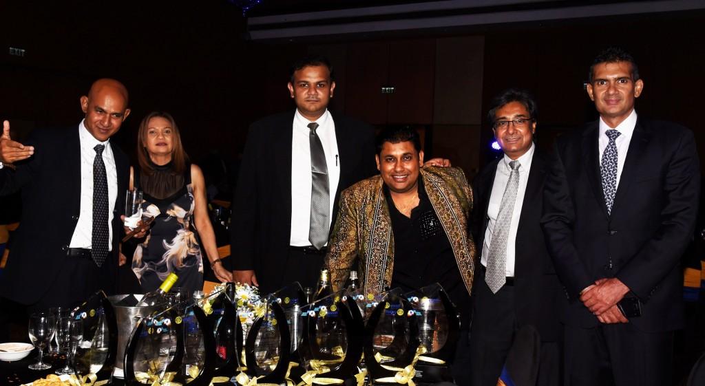 roshan perera-pravir samarasinghe-harsha rajan--harin fernando-rotary awards